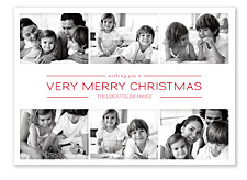 Picture Box Red Holiday Photo Cards