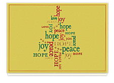 Peace and Joy Holiday Cards
