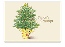 Evergreen Greetings Holiday Cards