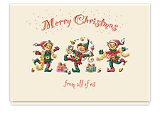 Cheerful Greetings Christmas Cards