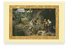Adoration of the Shepherds Religious Cards