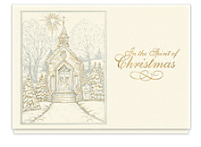 Christmas Chapel Cards