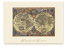 Novus Atlas Peace Greeting Cards
