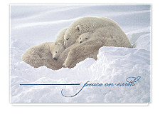 Peace on Earth Holiday Greeting Cards