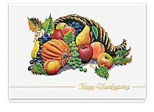 Thanksgiving Harvest Cards