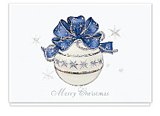 Snowfrost Ornament Merry Christmas Cards