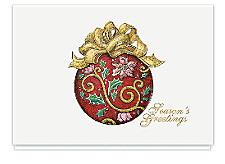 Tapestry Ornament Seasons Greeting Cards