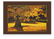 Thanksgiving Glow Greeting Cards