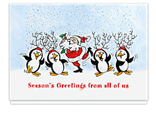 Winter Frolic From All of Us Holiday Cards