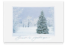 Seasons Greetings Peaceful Winter Cards