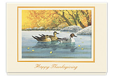 Fall Reflections Thanksgiving Cards