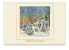Holiday Sunset Greeting Cards
