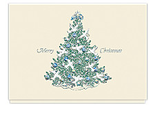 Peaceful Christmas Tree Cards
