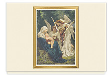 Song Of The Angels Holiday Cards