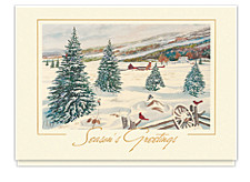 Country Greetings Seasons Greeting Cards