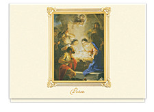 Maella Adoration of the Shepherds Peace Cards