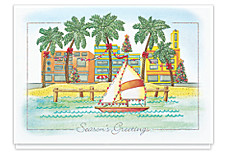 Greetings from Paradise Holiday Cards