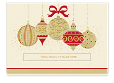 Golden Array Holiday Card