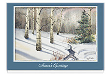 Shimmering Birches Holiday Cards