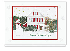 Warm Winter Welcome Christmas Cards
