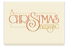 A Christmas Blessing Card