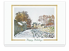 Snow At Argenteuil Holiday Cards