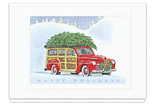 Vintage Holiday Greetings Cards