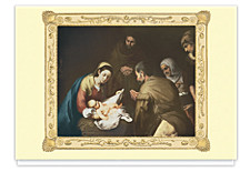 Murillo's Adoration of the Shepherds Holiday Cards