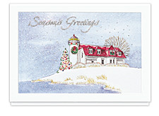 White Christmas Cards