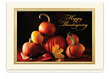 Autumn Vignette Holidy Card