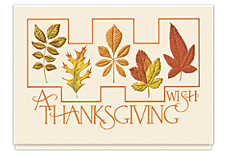 A Thanksgiving Wish Holiday Cards