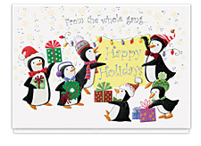 Penguin Holiday Cards