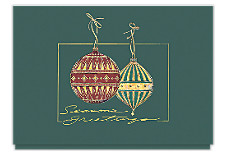 Ornamental Greetings Holiday Cards