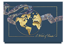 Worldwide Thanks Holiday Thank You Cards