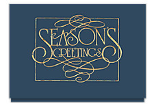 Season's Greetings Elegance Holiday Cards