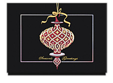 Ornamental Greeting Christmas Cards