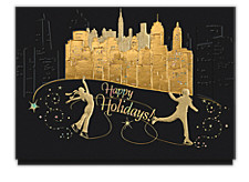 City Skate Dance Christmas Cards