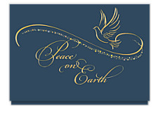 Stardust Peace Holiday Cards