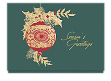 Golden Accents Seasons Greeting Cards