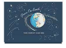 Galactic Peace on Earth Cards