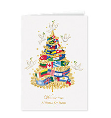 World Peace Tree Holiday Cards