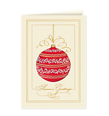 Season's Greetings Brilliance Card