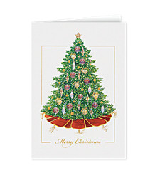 Festive Christmas Tree Card