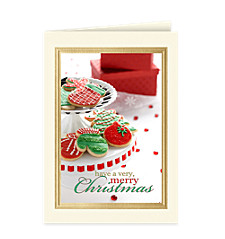 Christmas Cookies Holiday Card